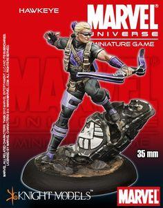 Marvel Universe Miniature Game Hawkeye | Nerdvana Gaming