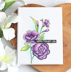 The Card Grotto: Mother's Day Flowers Best Flower Delivery, Flower Delivery Service, Flowers By Post, Cut Flowers, Flower Stamp, Flower Cards, Teachers Day Greeting Card, Letterbox Flowers, Online Florist