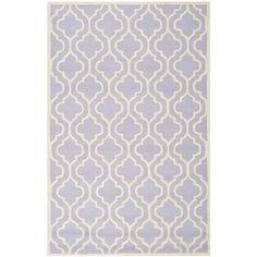 Safavieh Handmade Cambridge Moroccan Lavander Wool Indoor Rug (6' x 9')   Overstock.com Shopping - Great Deals on Safavieh 5x8 - 6x9 Rugs