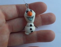 Aww! Some people are worth melting for! Little Olaf charm from Disney Frozen is so cute and tiny!! Do you want to build a snowman?!