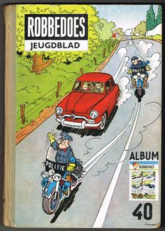 Robbedoes - Verzamelalbum 40 - hc - 1° druk - (1952)