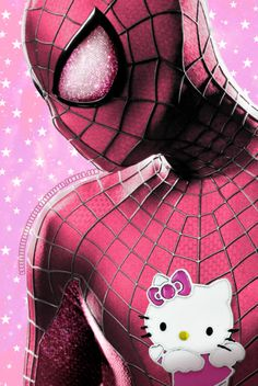 """…Yep, we said """"Hello Kitty"""" makeovers and """"Marvel's mightiest heroes"""" in the same statement. Since Hello Kitty has been putting smiles on people's faces. Hello Kitty Outfit, Hello Kitty Clothes, Phil Coulson, Nick Fury, Spiderman, Batman, Steve Rogers, Tony Stark, Chris Evans"""