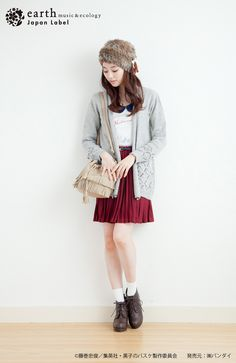 Cute Casual Japanese Fashion from Earth, Music & Ecology