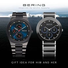 Ceramic Collection; Women; Men; Watches; BERING; Chronograph