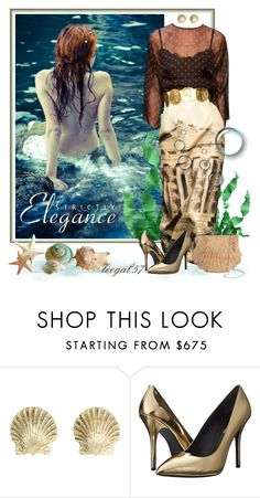 """""""Sea Maiden"""" by leegal57 ❤ liked on Polyvore featuring Sirena, Dolce&Gabbana, Tiffany & Co., Pierre Balmain and Tevolio"""