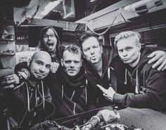 From the band's Instagram https://www.instagram.com/p/BN2r4CRASku/