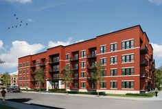 Sol Condo, Laval, Loft, Construction, Multi Story Building, Decor, The Neighborhood, Home, Building