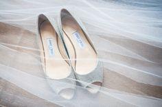 Silver Jimmy Choo Wedding Shoes
