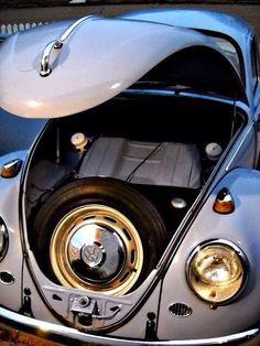 Under my skin Auto Volkswagen, Volkswagen Bus, Vw Camper, Vw Super Beetle, Beetle Car, Old Bug, The Great Race, Ferdinand Porsche, Bahama Blue