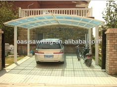 Pergola Attached To House Roof Garage Canopies, Carport Canopy, Pergola Carport, Pergola Plans, Pergola Kits, Pergola Ideas, Pergola Attached To House, Deck With Pergola, Shopping