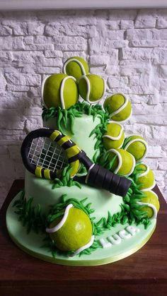 Tennis cake by naty's cake