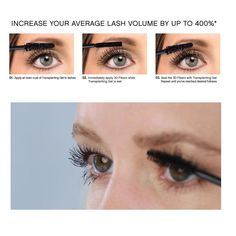 Our Silk Fiber Mascara will increase the length, thickness and volume of your lashes at up to of their natural state. You'll get long, luscious lashes without having to apply false eyelashes. Mascara 3d, Fiber Mascara, Best Mascara, Mascara Tips, Fiber Lashes, How To Apply Blusher, How To Apply Mascara, Artificial Eyelashes, Fake Eyelashes