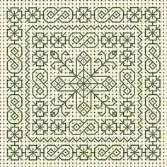 Tom Pudding Designs: blackwork
