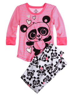 c006c43acf Cozy Soft Fleece Panda Pajama Pant