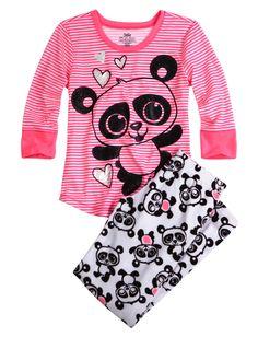 Giraffe 3 Piece Pajama Set | Girls Pajamas & Robes Clothes | Shop ...