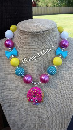 Check out this item in my Etsy shop https://www.etsy.com/listing/491240563/dlish-donut-chunky-necklace