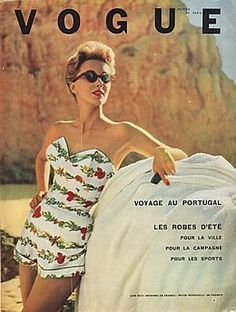 Vintage vogue covers. 1950s