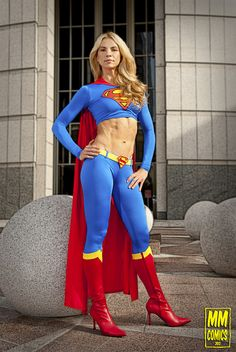 Supergirl cosplay by Heather Clay
