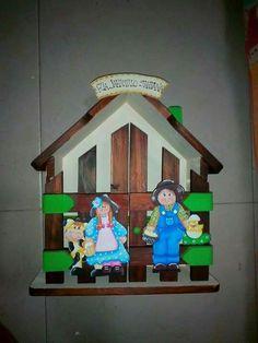 Decoupage, Arte Country, Safari, Shabby Chic, Mary, Clock, Christmas Ornaments, Holiday Decor, Outdoor Decor