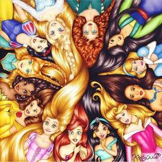 Disney should make a princess that looses her hair but still saves the day