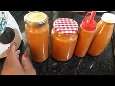 MOLHO DE PIMENTA FACIL - YouTube Hot Sauce Bottles, Pudding, Make It Yourself, Youtube, Desserts, Food, Hot Pepper Sauce, Spices, Hipster Stuff