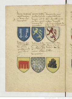 """""""It sunt names, weapons and coats of arms of companions Knights of the Round Table at King Artus and tamps the hus they estoyent sitting at comencemant the grant of queste Greal saint, was the so-called Round Table"""""""