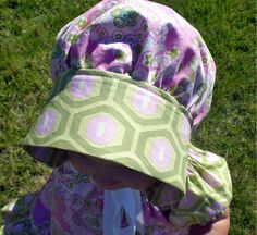 PDF Sewing Patterns for girls by Pink Poodle Bows. Sew it, love it, give it!: Free Sewing Pattern Bonnet Tutorial