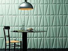 Studioart leather wall tiles is articulated in an extraordinary variety of solutions: the new material and original embossing options suggest sophisticated and versatile couplings of style and colours to create optical effects on the surfaces, emphasis and enhance the natural characteristics of the leathers.