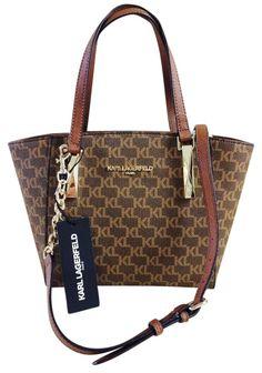Karl Lagerfeld Monogram Brown Satchel. Save 36% on the Karl Lagerfeld  Monogram Brown Satchel. Tradesy db8135f995c53