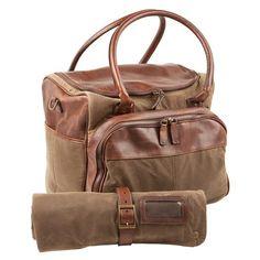 Moore   Giles Meehan Utility Bag   Bar Rollup Waxwear Rangertan -  740  Leather Men c2a4652dbc9c2