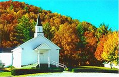 This beautiful church is near Cashiers,North Carolina.