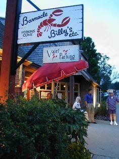 Barnacle Billy's in Ogunquit, ME