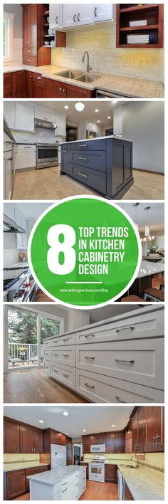 Today, above anything else, there is a rising movement towards a streamlined look that focuses on simplicity and minimalism. Here and there however, you will find some wild and bold options popping up.  2017 will see both styles get their fair share of love from homeowners. While simple clean cabinetry will keep getting popular, some homeowners will prefer unique customized styles that will make a bold statement.