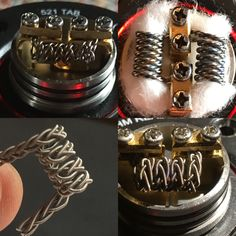 Some of my coil builds