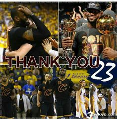 Thank you! Lebron James Cleveland, Cleveland Cavs, Cleveland Indians, We Are The Champions, Nba Champions, Lebron James Kyrie Irving, Lebron James Family, American Hockey League, Basketball Teams