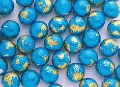 Milk Chocolate World Globes: 5 LBS: Amazon.com: Grocery & Gourmet Food