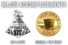 Major Accomplishments: Hot & Spicy, Original/The Works