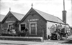 The current business premises are now up for sale at 10/12/2016 ~ sad but it done well I suppose ~ I worked in Fisher's laundry (1968) as a youth whilst awaiting joining the Royal Air Force.