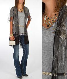 'Fringe & Flair' #buckle #fashion www.buckle.com