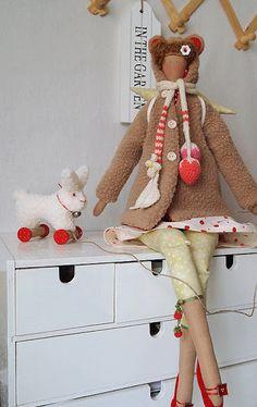 Тильды к Новому году - сборная подборка - 15 Ноября 2013 - Кукла Тильда. Всё о Тильде, выкройки, мастер-классы.