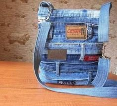 Denim Jeans, Diaper Bag, Pants, Fashion, Scrappy Quilts, Coin Purses, Totes, Manualidades, Valentines
