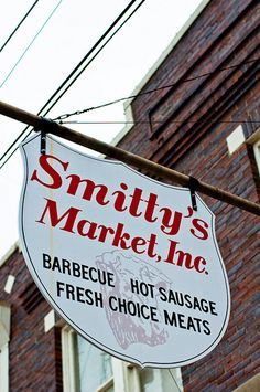 Smitty's Market - Lockhart TX. I will drive however long it takes from wherever I am to get here.