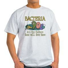 Bacteria - All The Culture Some Will Ever Have. T-Shirts and a lot more, perfect off-duty gifts for Lab Techs, science geeks and Microbiologists. Bacteria Culture > WindyCinder Studios.