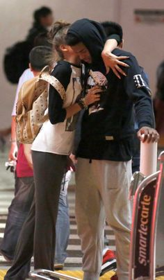 Zendaya with Trevor at LAX in Los Angeles (June