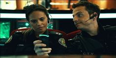 Flashpoint - Spike and Winnie aka OTP Flashpoint Tv Series, Crossing Lines, Cop Show, Keep The Peace, Ship Names, I Just Said, Simon Baker, The Mentalist, Cute Gif