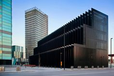 Office Building at Europa Square, L'Hospitalet de Llobregat, Barcelona. Architects: Rafael Aranda, Ramon Vilalta & Carme Pigem