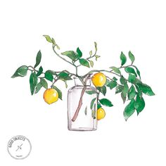 Good objects - 'Lemon branch' featured at @revistalara Now available at society6 store www.society6.com/goodobjects