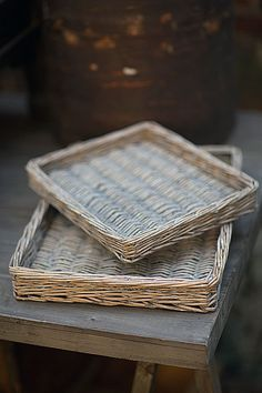 Mothology.com - Set of Two Willow Trays, $45.00 (http://www.mothology.com/set-of-two-willow-trays/)