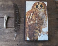 {Book of British Birds, Vintage Natural History Book} gorgeous owl cover!