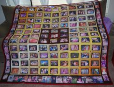 Photo Quilt starting with 16 photos or Quilting Projects, Diy Projects, Quilting Ideas, Photo Quilts, Photo Memories, Xmas Gifts, Quilt Making, Quilt Patterns, Memory Quilts